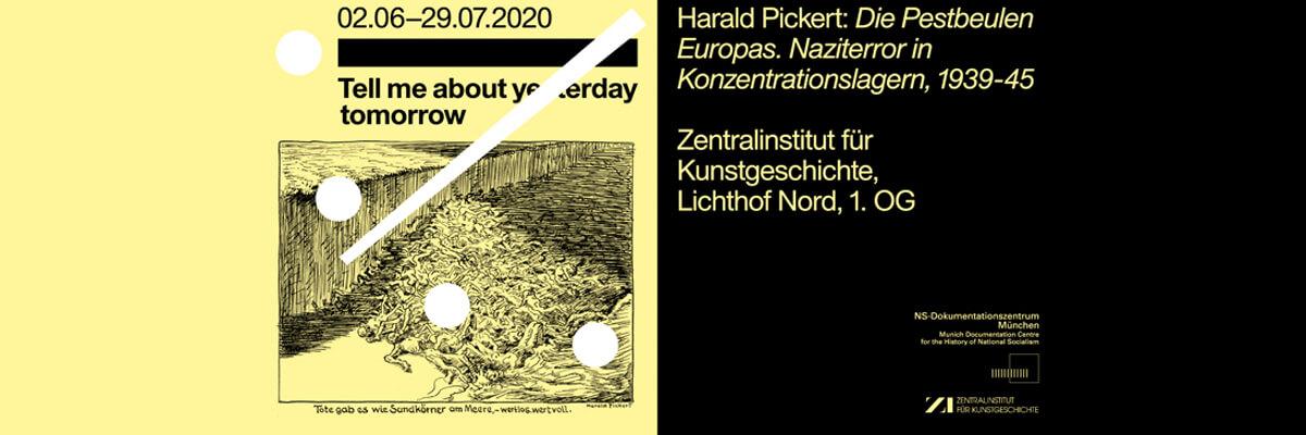 """Christian Fuhrmeister zur Ausstellung """"Harald Pickert– Die Pestbeulen Europas. Naziterror in Konzentrationslagern, 1939-45"""""""