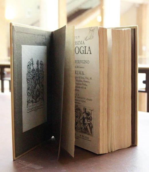 Abb. 1: Cesare Ripa, Iconologia, Padua: Donato Pasquardi, 1630 (ZI: SD 8/79,1+-3 R) @ Zentralinstitut für Kunstgeschichte, Foto: Sonja Nakagawa