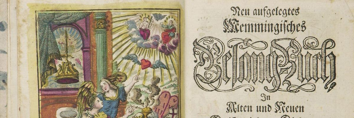 Esther Wipfler über ein verkanntes Bild-Medium: Das Gesangbuch