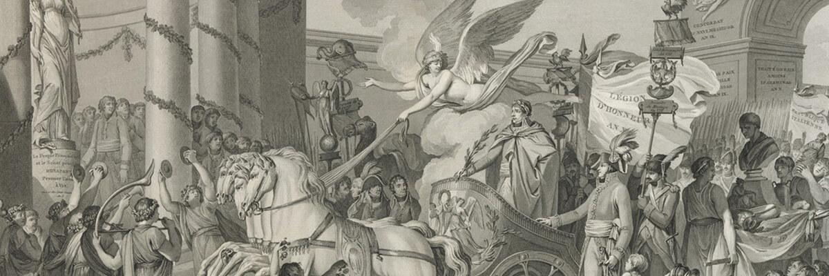 Christine Tauber über Napoleons Triumphzüge und ihre massenmediale Verbreitung