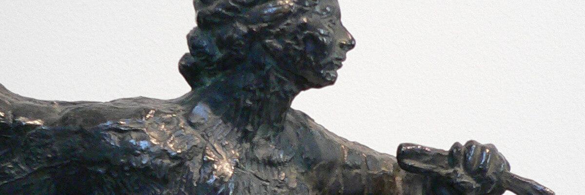 Ursula Ströbele über eine arbeitende Bildhauerin: Antoine Bourdelles Bronzeporträt Cléopâtre Sevastos'