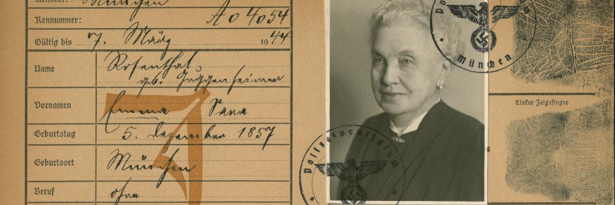 """Franziska Eschenbach zu Emma Rosenthals Wahrnehmung des """"Münchner Abkommens"""" 1938"""